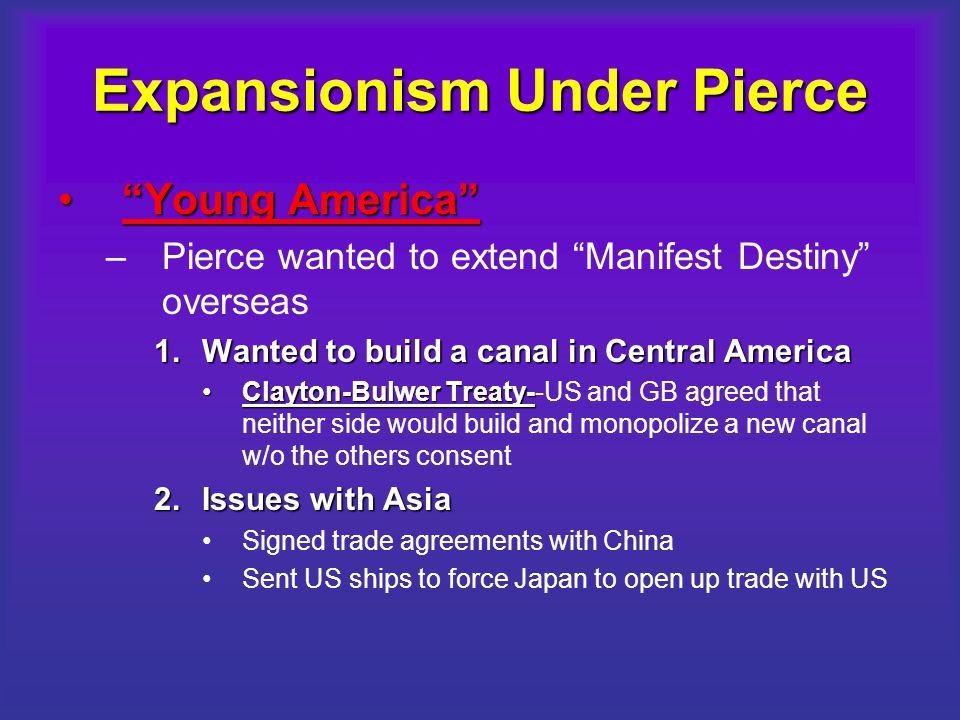 Expansionism Under Pierce