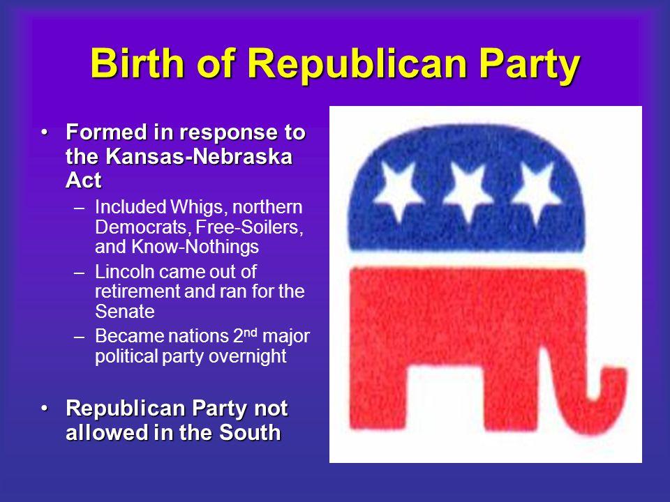 Birth of Republican Party