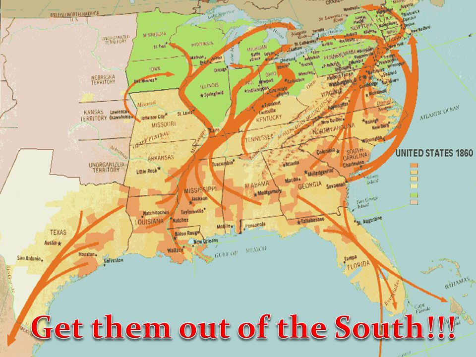 Get them out of the South!!!