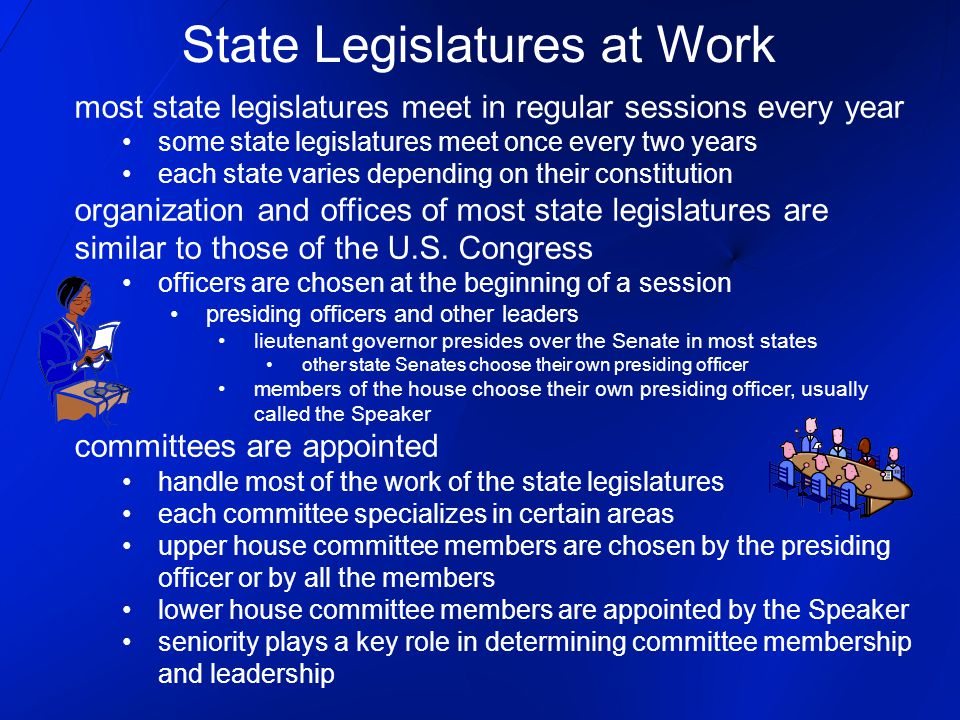 State Legislatures at Work