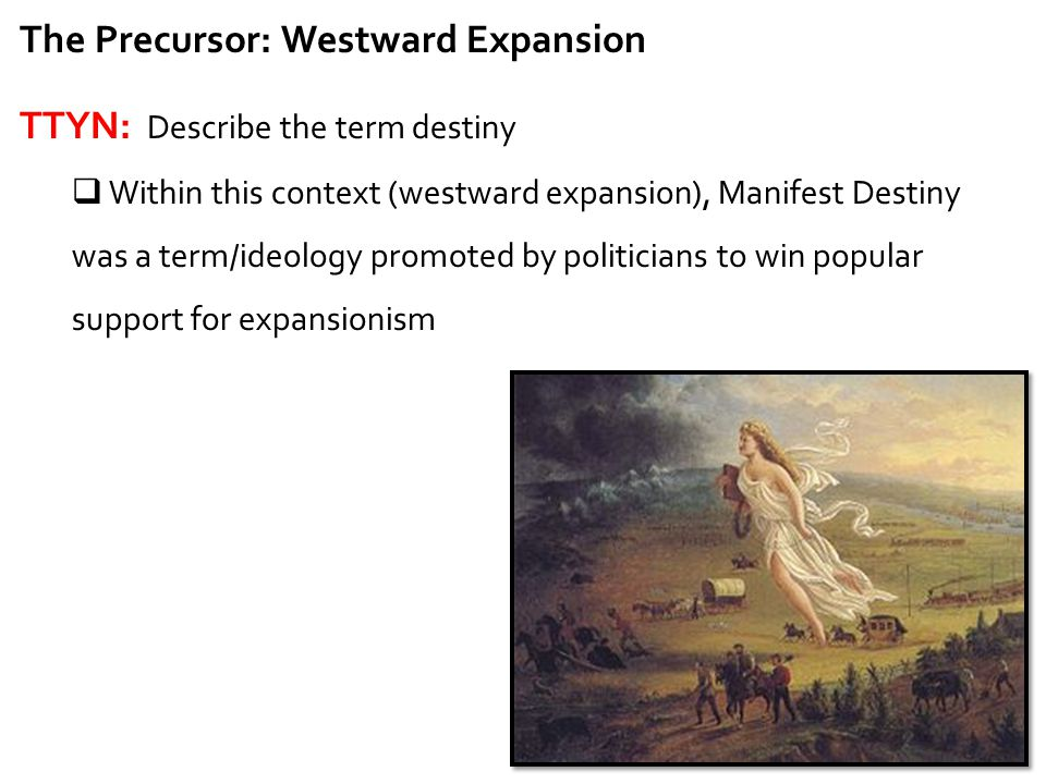 Your Control In Your Westward Expansion