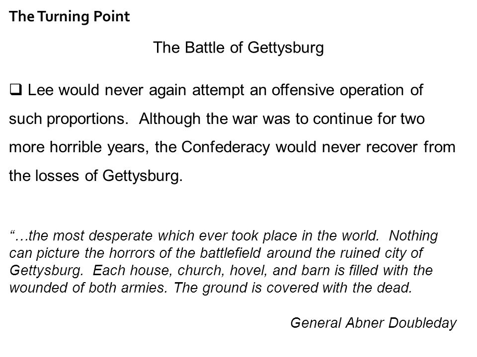 battle of gettysburg essay questions Battle of gettysburg essays: over 180,000 battle of gettysburg essays, battle of gettysburg term papers, battle of gettysburg research paper, book reports 184 990 essays, term and research papers available for unlimited access.