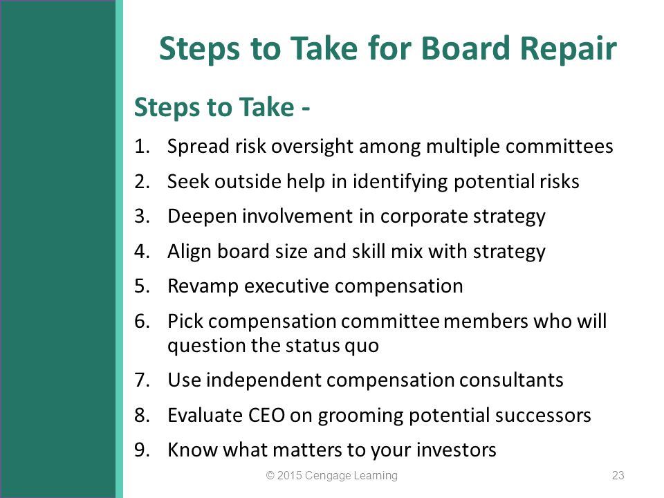 Steps to Take for Board Repair