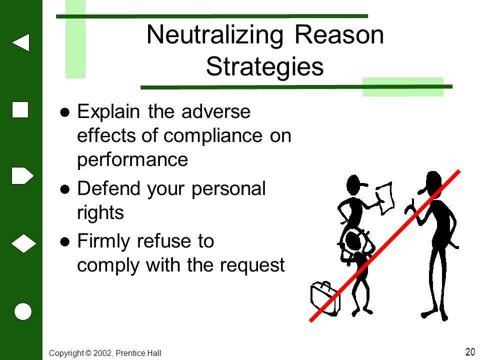 Neutralizing Reason Strategies