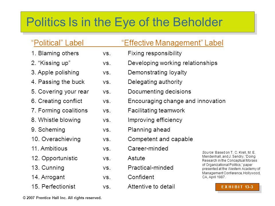 Factors that Influence Political Behaviors