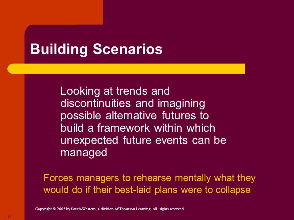 Building Scenarios