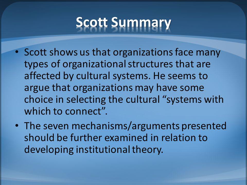 Scott Summary