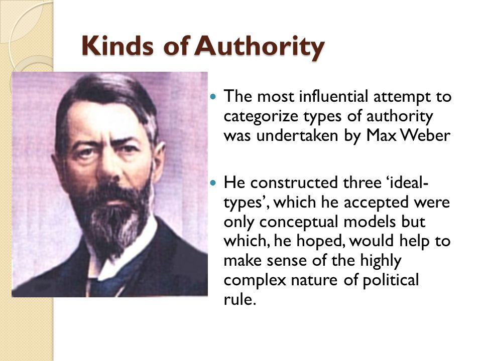 the three types of legitimate rule max weber pdf