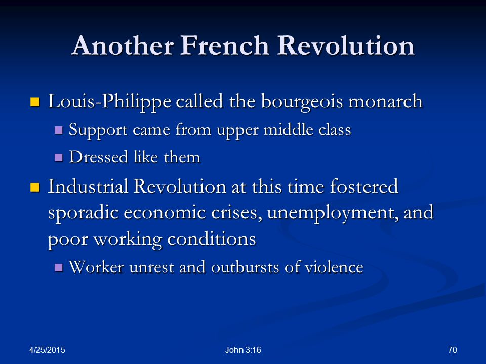 Another French Revolution