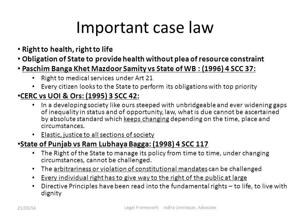 Legal Framework Indira Unninayar, Advocate