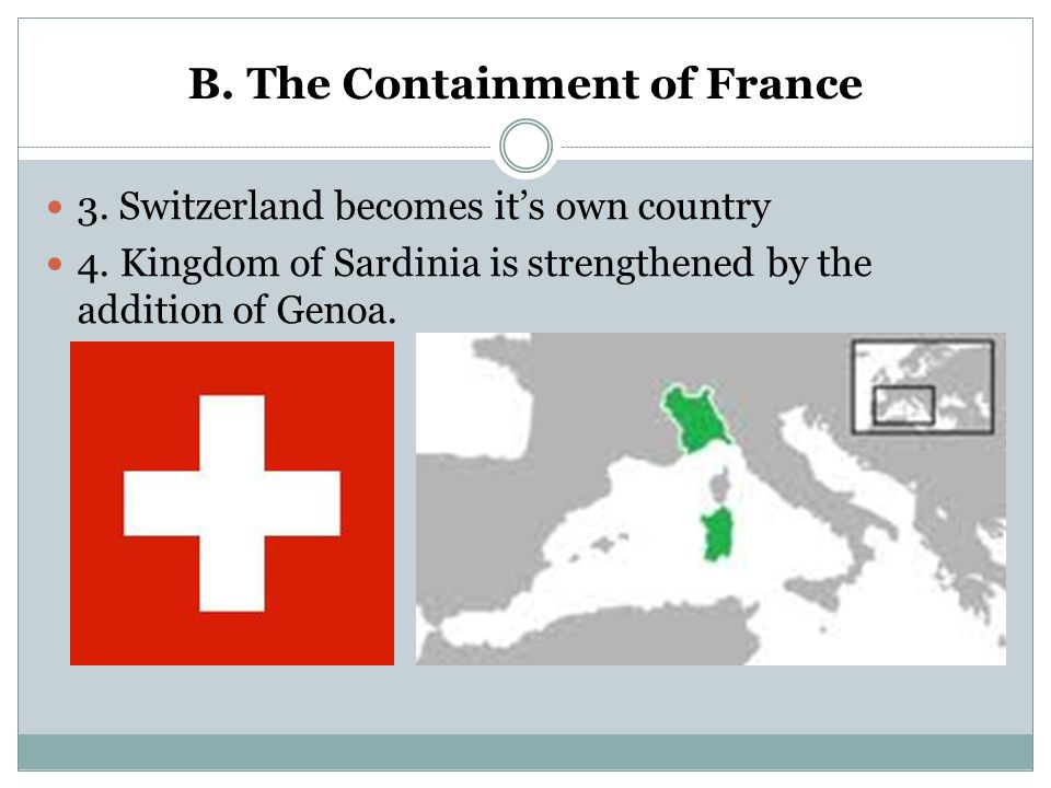 B. The Containment of France