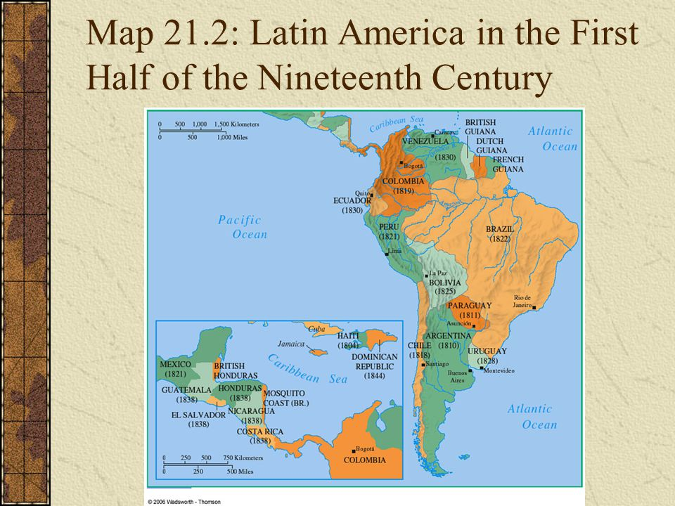 19th century latin americ Latin american history from 1800 to 1914 outline / periods key words (by the late 18th century, creole elites in latin america were prepared to separate from spain, but fear of racial and class conflicts prevented latin america cast off european imperialism in the 19th century.