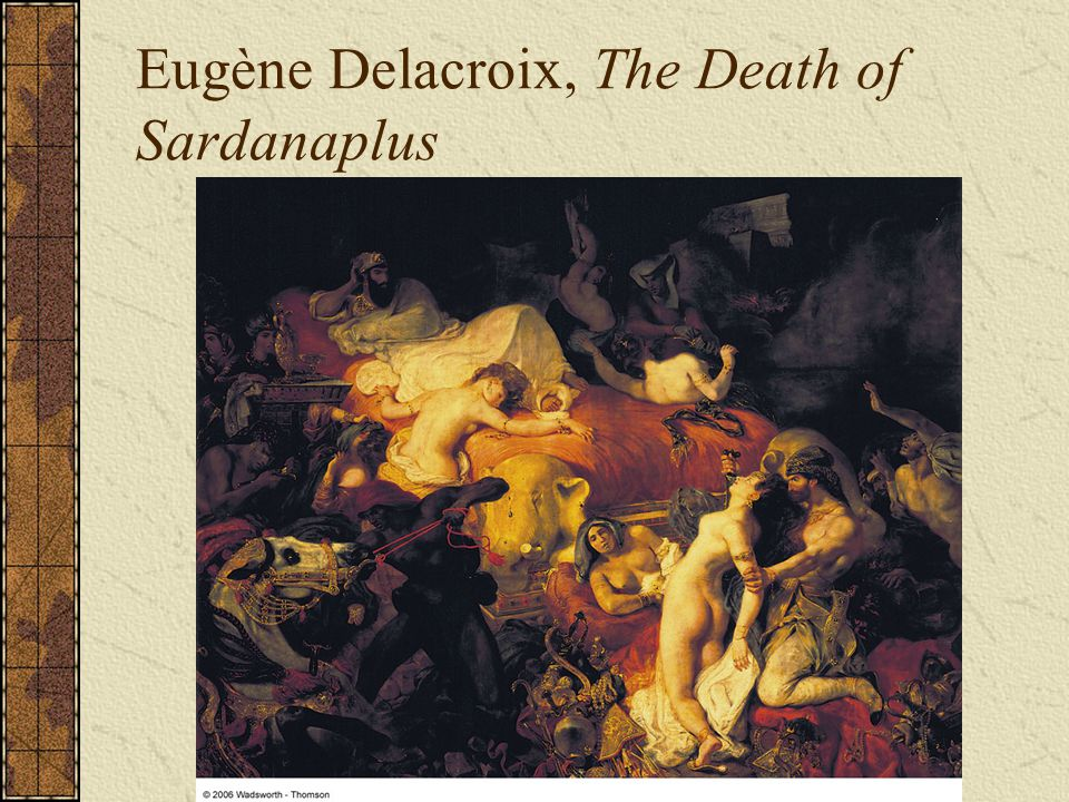 Eugène Delacroix, The Death of Sardanaplus