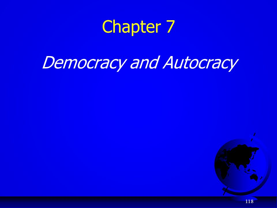 Democracy and Autocracy