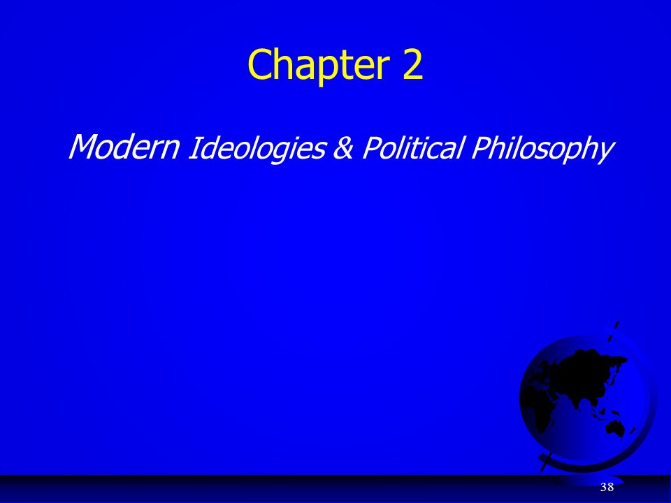 Chapter 2 Modern Ideologies & Political Philosophy