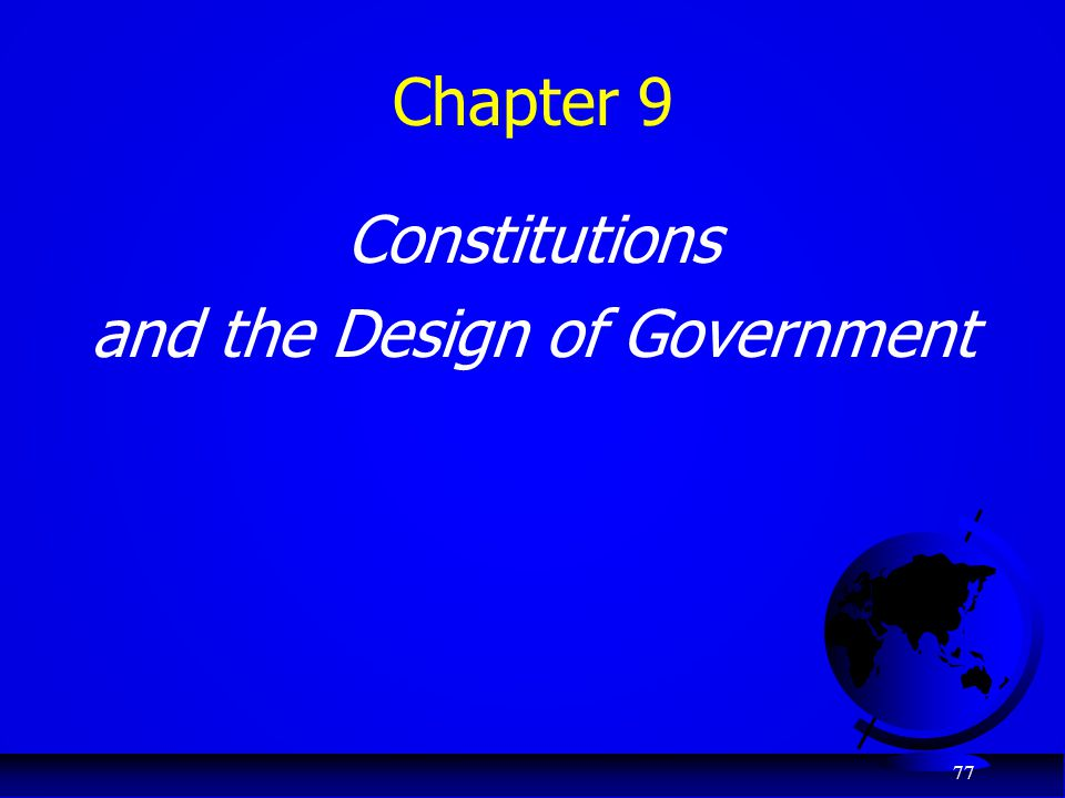 and the Design of Government