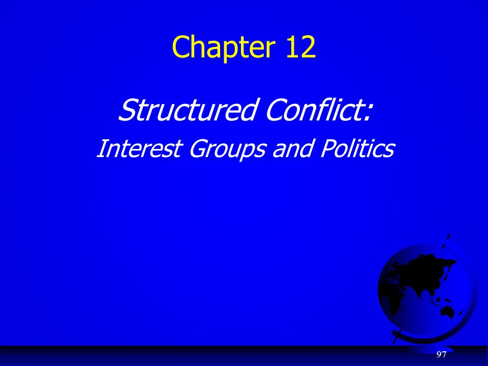 Interest Groups and Politics
