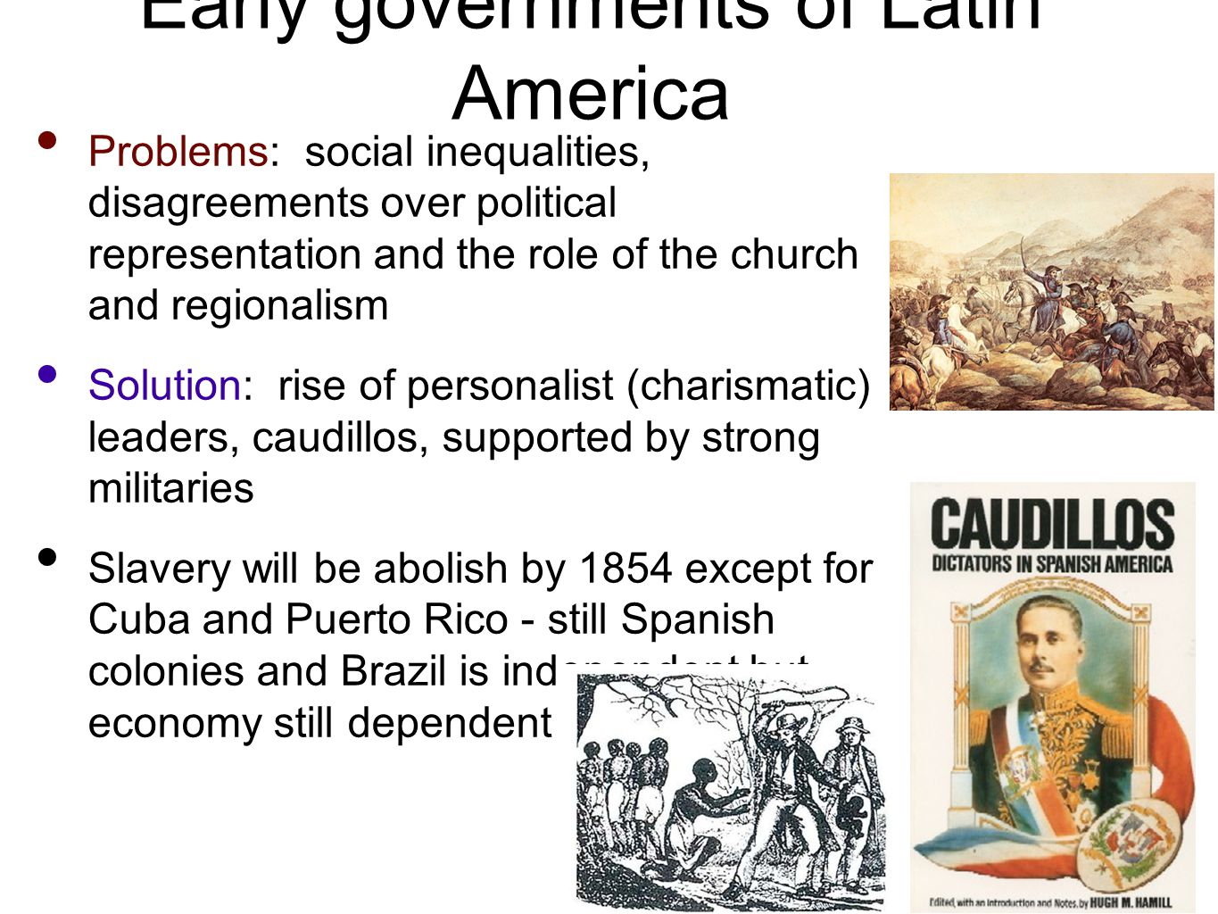 Early governments of Latin America