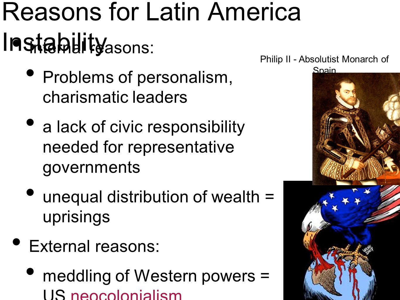 Reasons for Latin America Instability