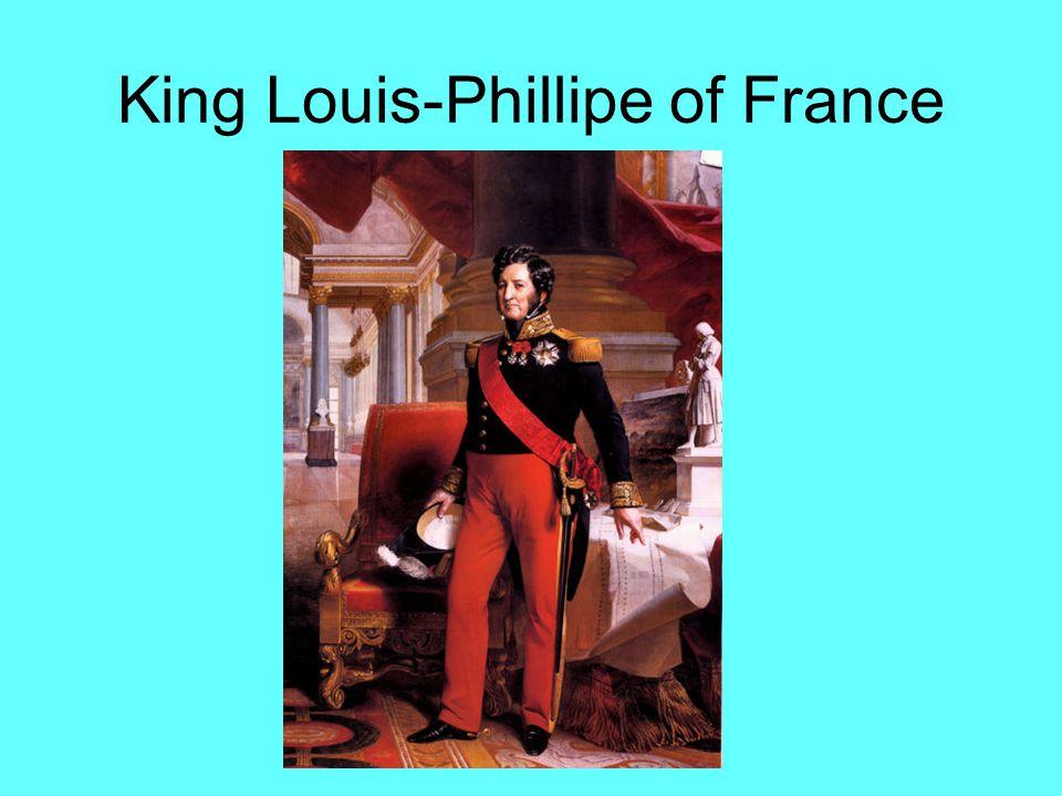 King Louis-Phillipe of France