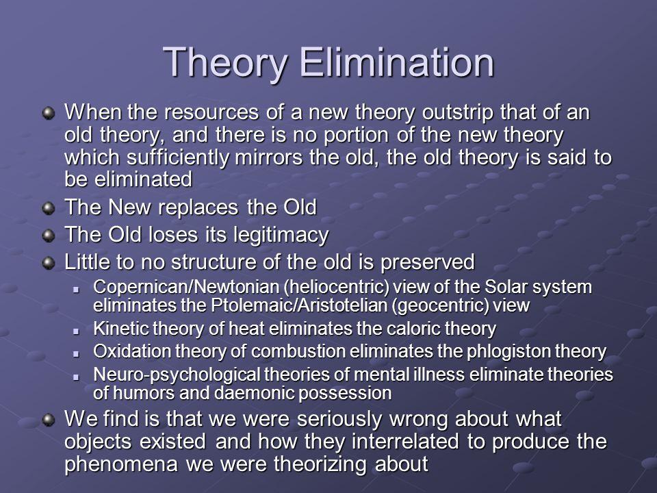Theory Elimination