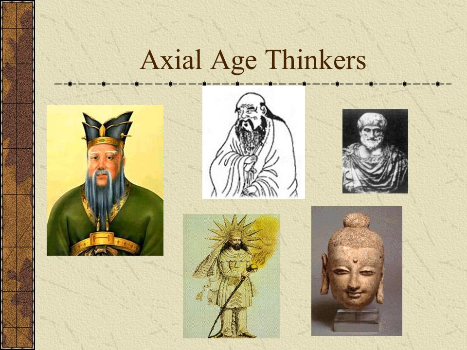 Axial Age Thinkers
