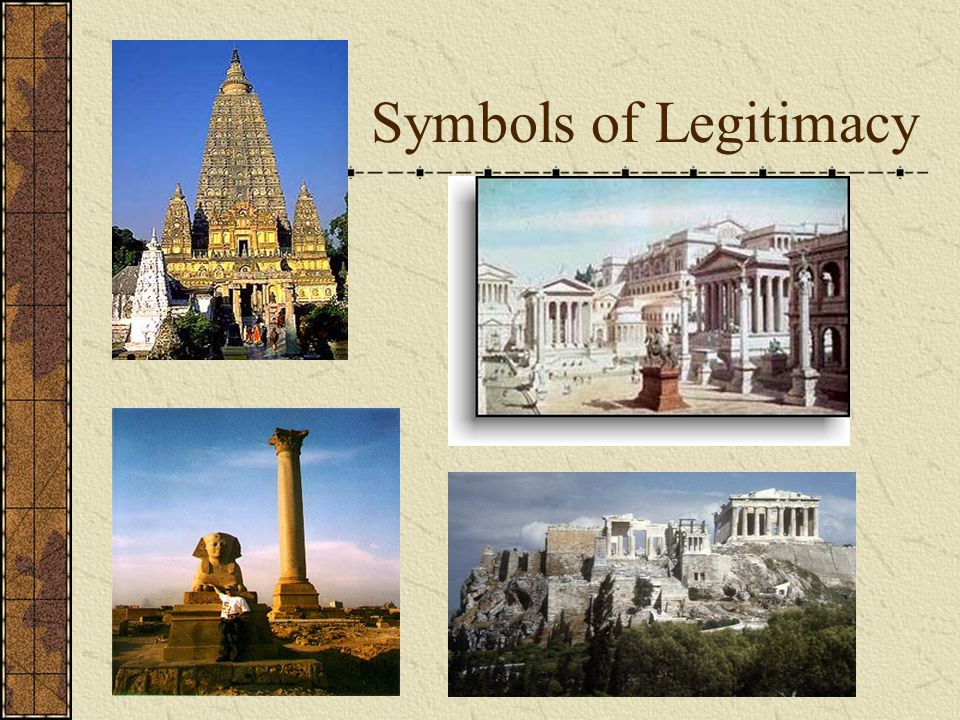 Symbols of Legitimacy