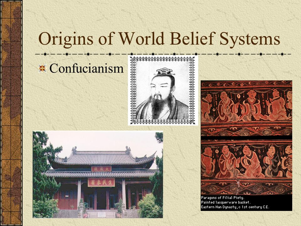 Origins of World Belief Systems