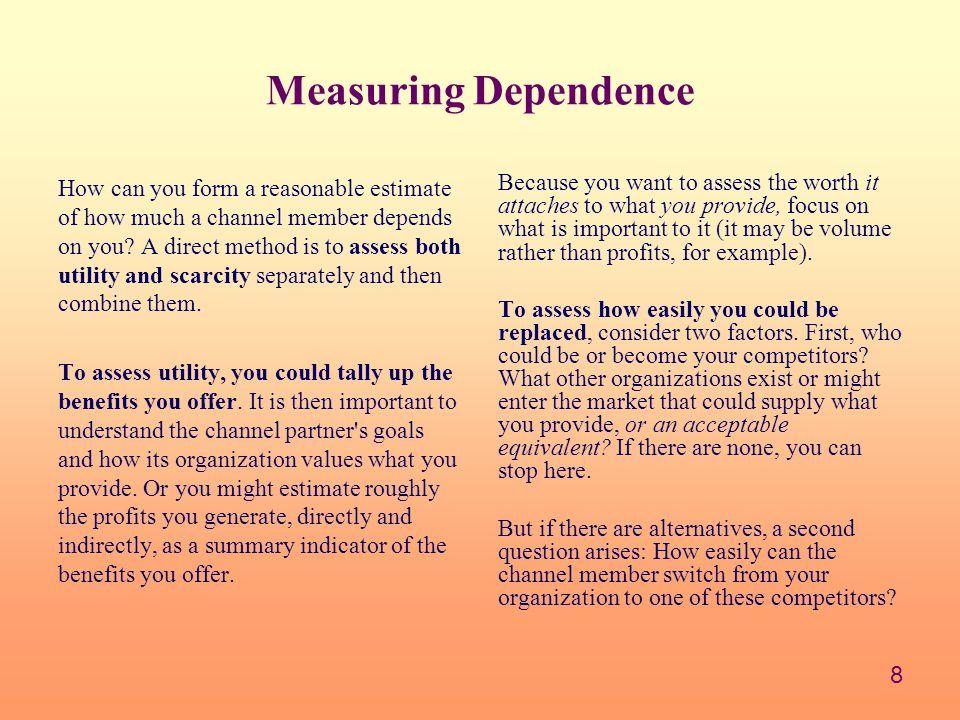 Measuring Dependence