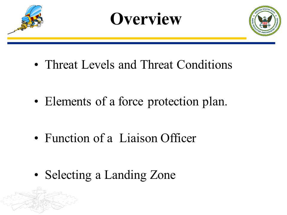 Overview Threat Levels and Threat Conditions