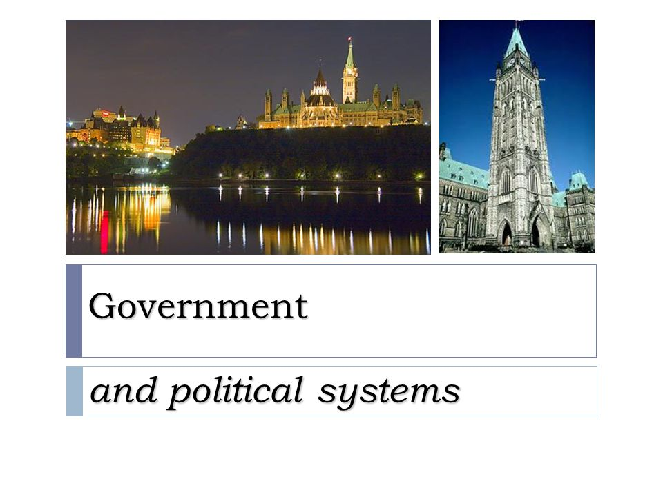 Government and political systems