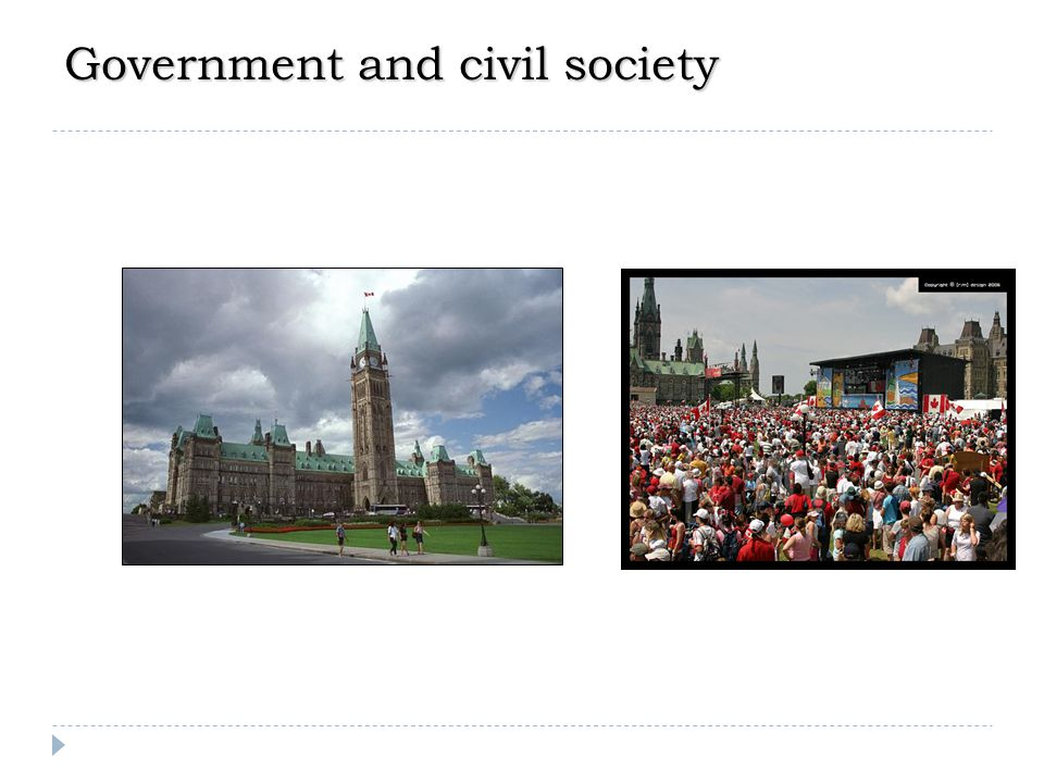 Government and civil society