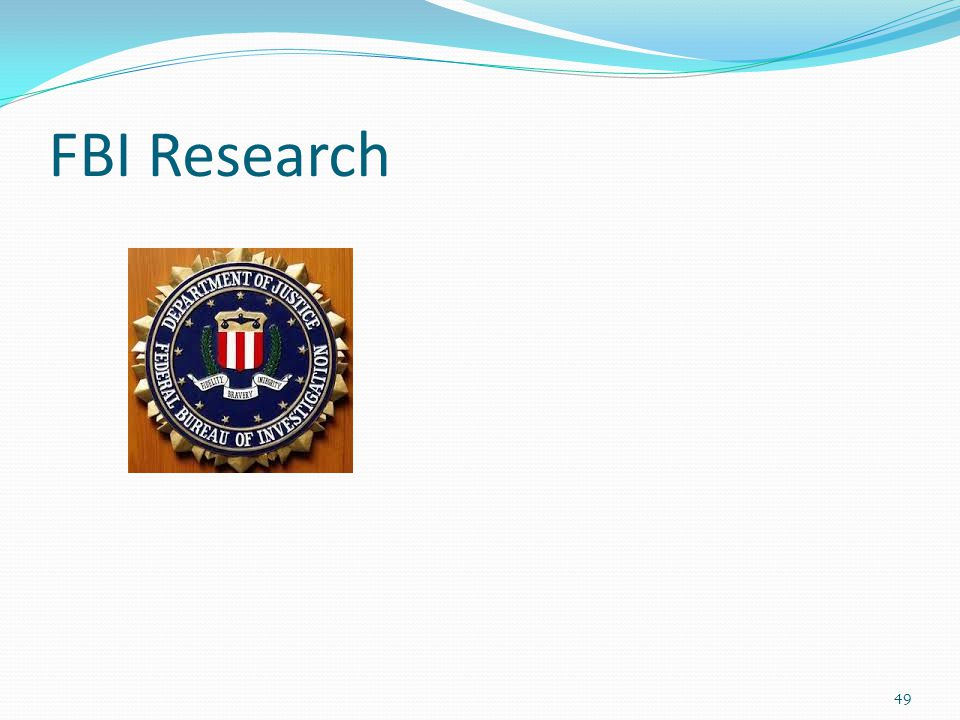FBI Research