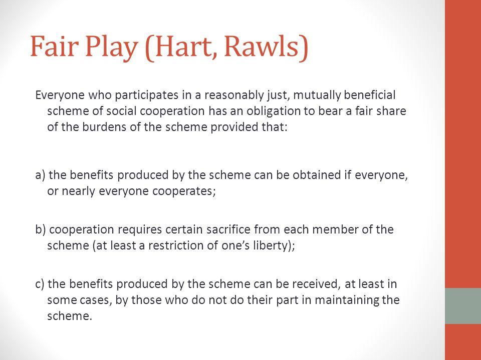 Fair Play (Hart, Rawls)