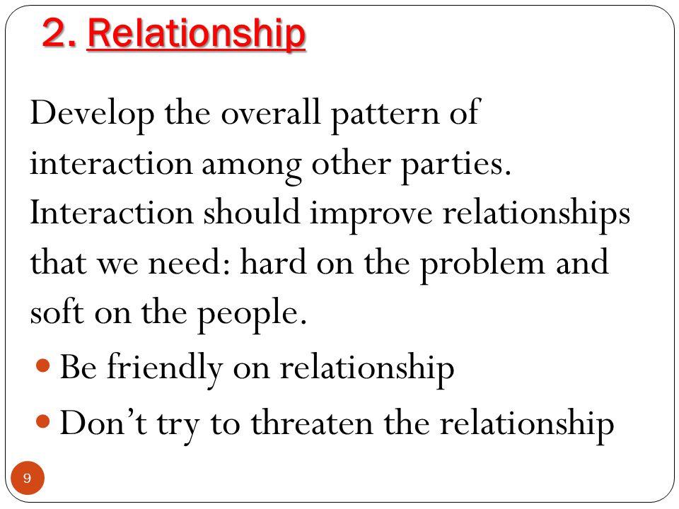 2. Relationship