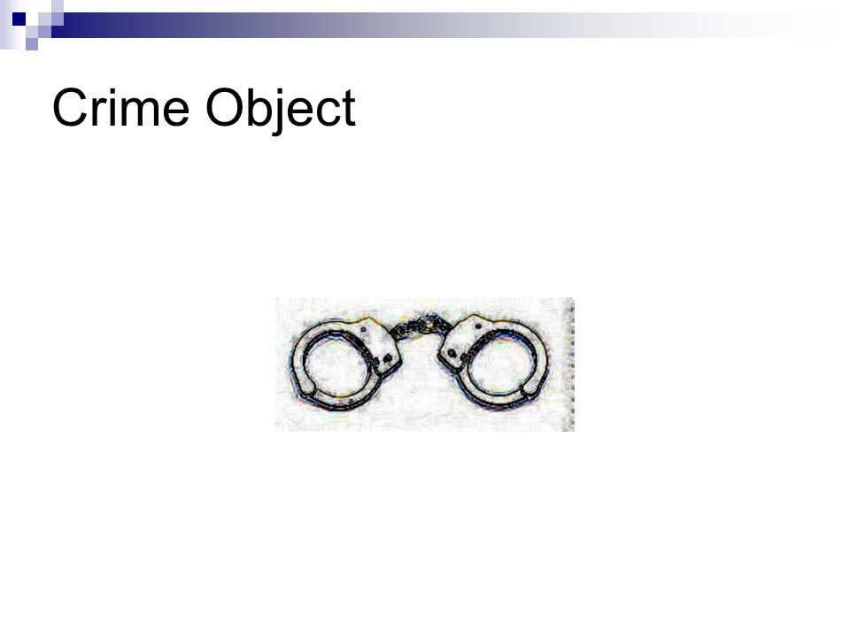Crime Object