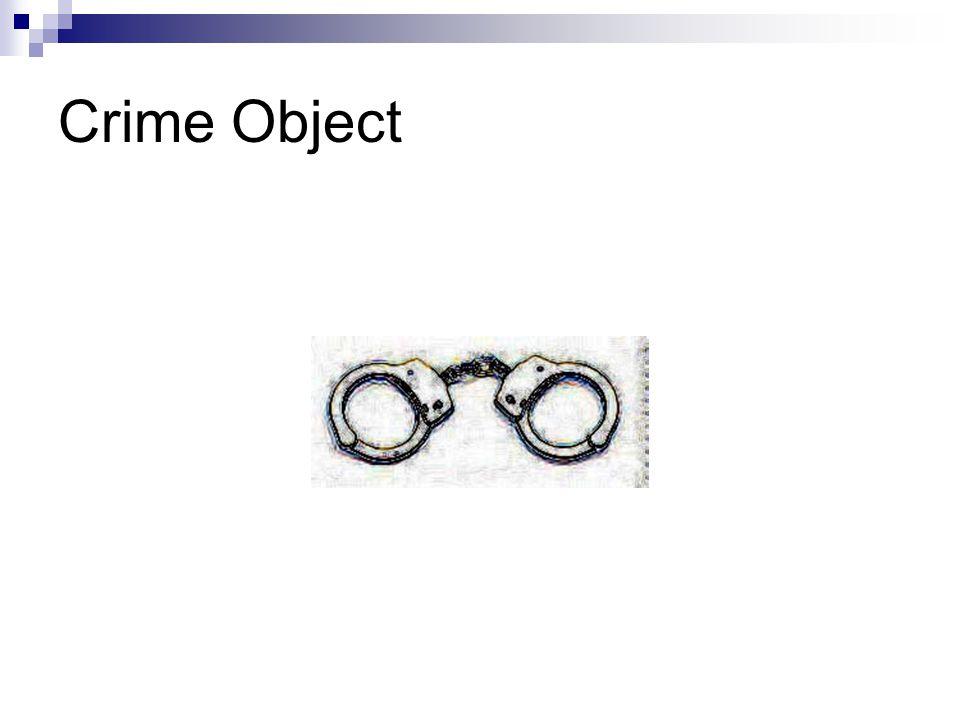 Crime Object