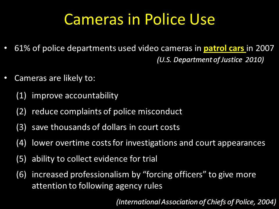 Cameras in Police Use