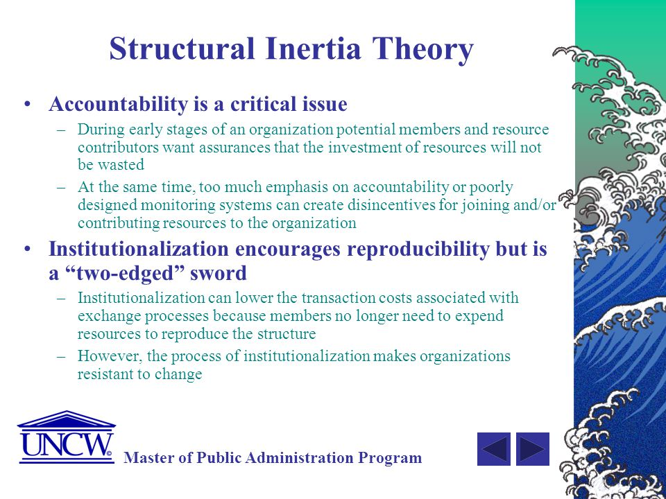 Structural Inertia Theory