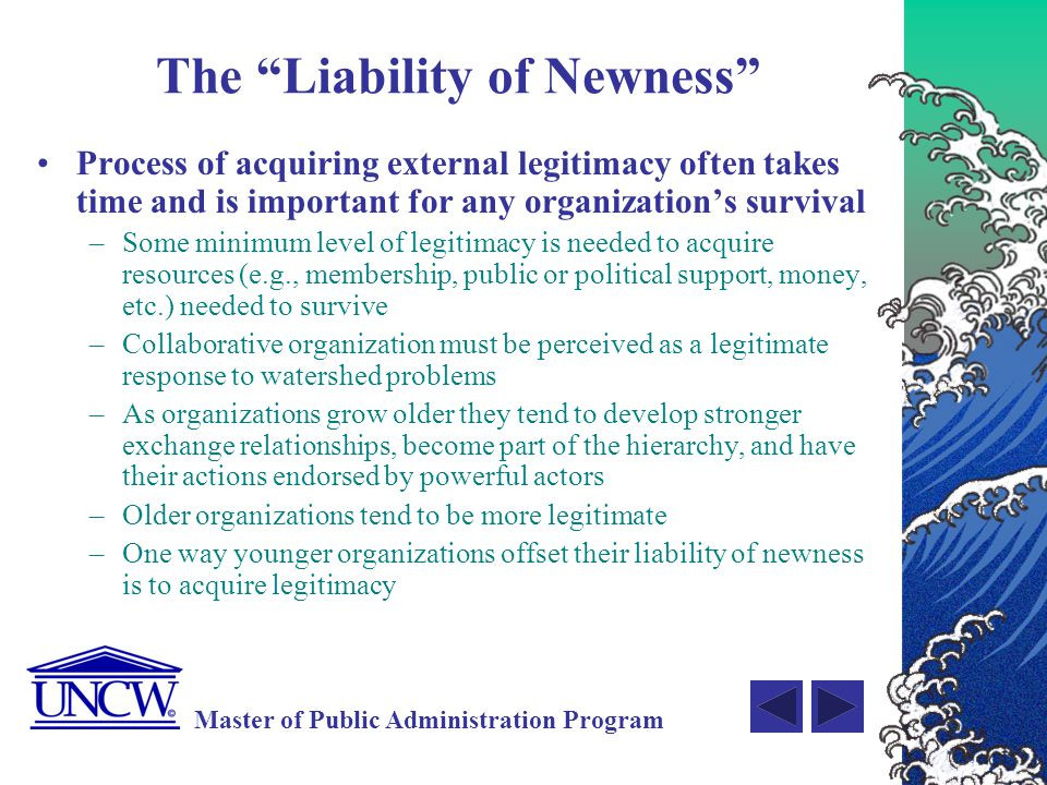 The Liability of Newness