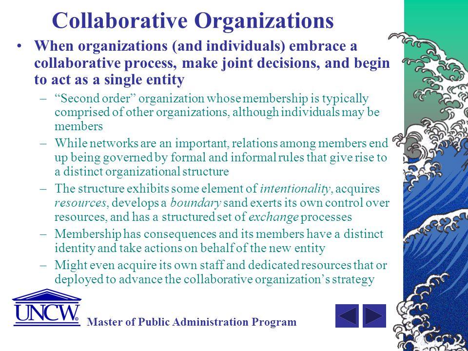 Collaborative Organizations