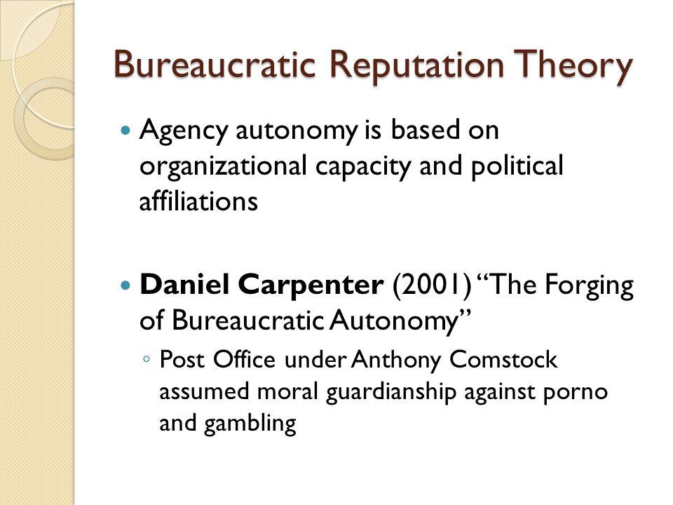 Bureaucratic Reputation Theory