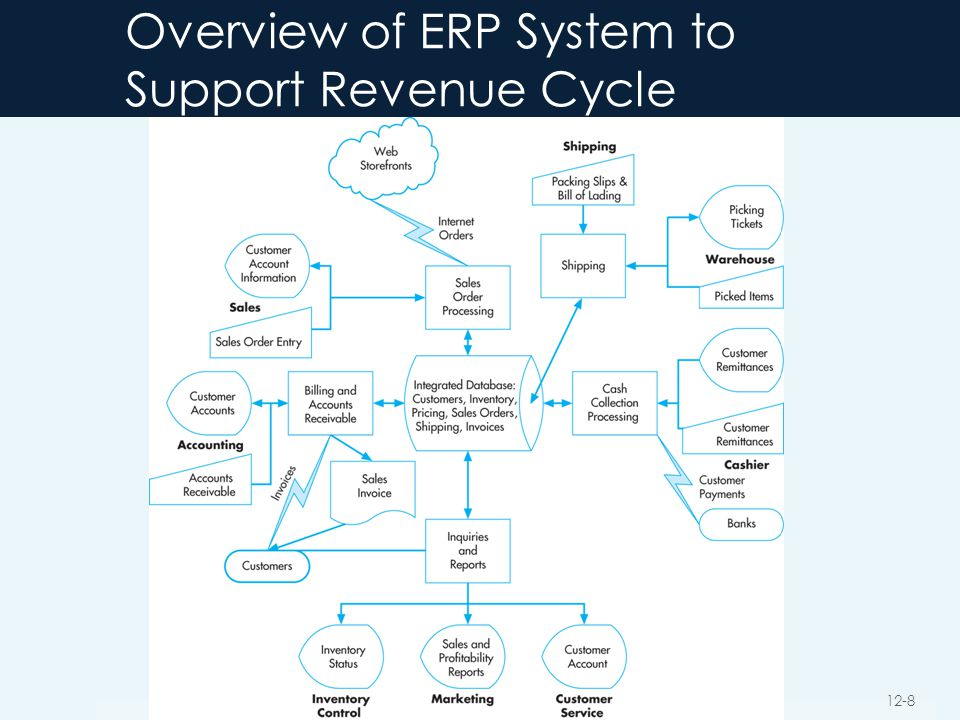 Overview of ERP System to Support Revenue Cycle