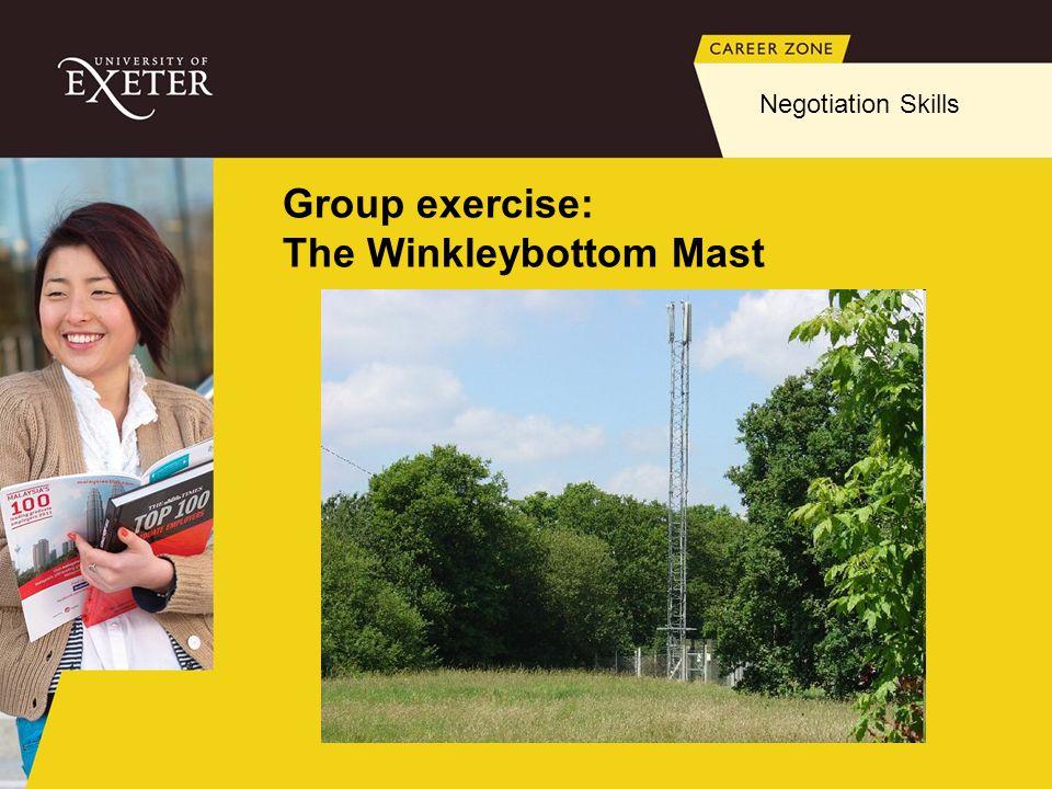 Group exercise: The Winkleybottom Mast