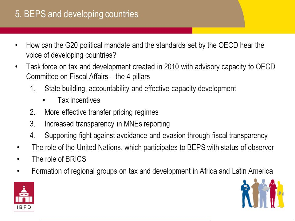 5. BEPS and developing countries