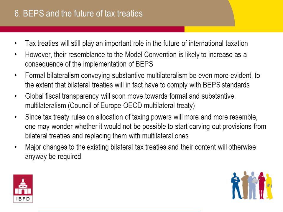 6. BEPS and the future of tax treaties
