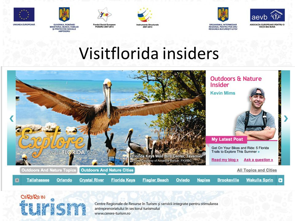 Visitflorida insiders