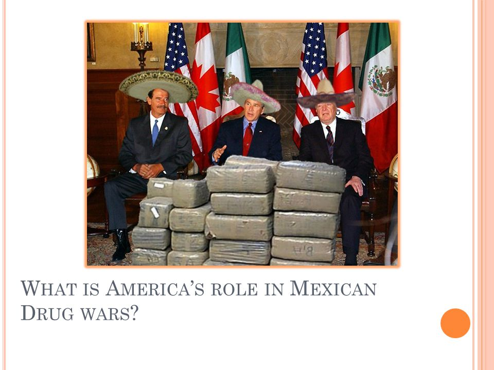 What is America's role in Mexican Drug wars