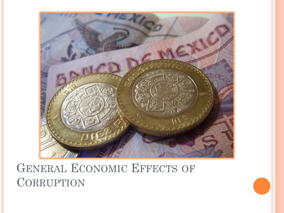 General Economic Effects of Corruption