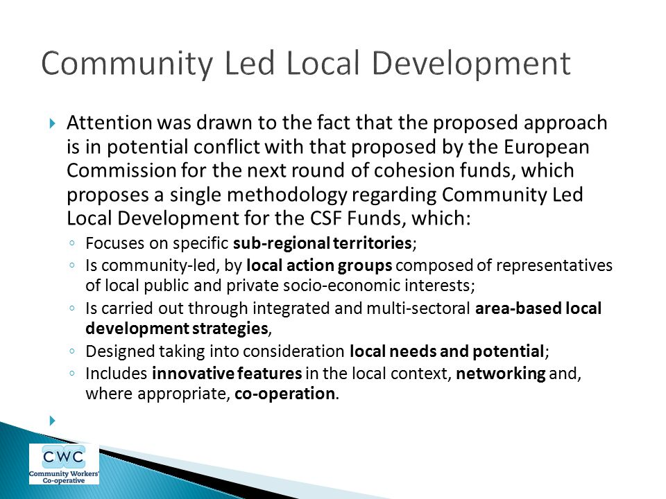 Community Led Local Development
